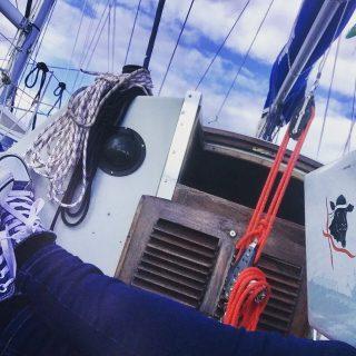 Der beste Arbeitsplatz der Welt: (m)ein Boot